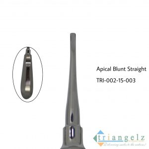 Apical Blunt Straight