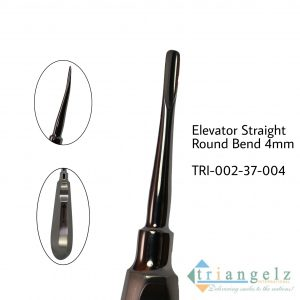 Elevator Straight Round Bend 4mm