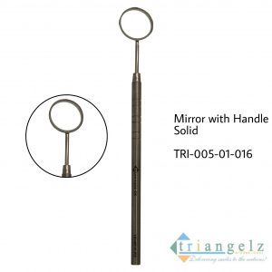 Mirror with Handle Solid
