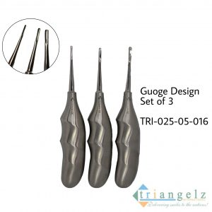 Gouge Design Set of 3