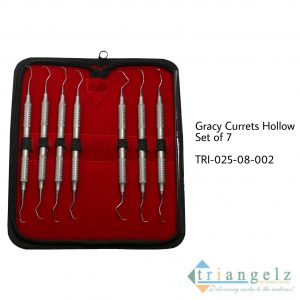 Gracey Curettes Hollow Set of 7